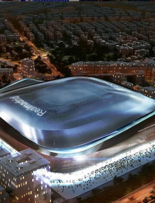 سایتیگو برنابئو ورزشگاه رئال مادرید