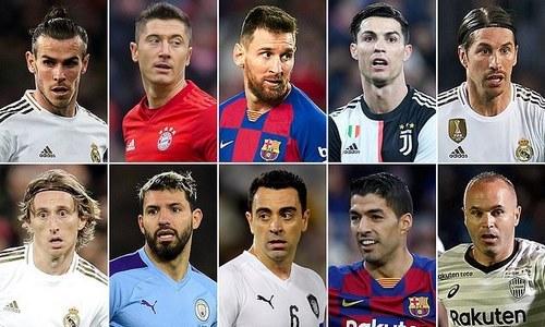 معرفی 10 بازیکن برتر فوتبال