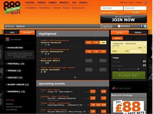 سایت شرط بندی 888Sport