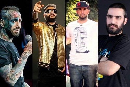 عکس های بهترین خواننده های رپ فارسی