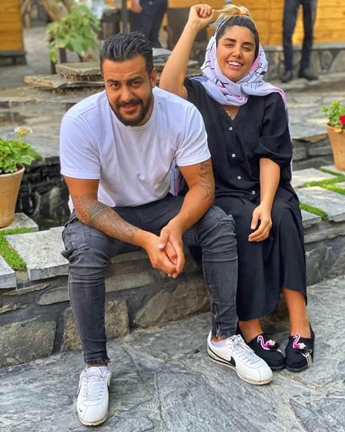 نگین عابدزاده و ملیکا تهامی