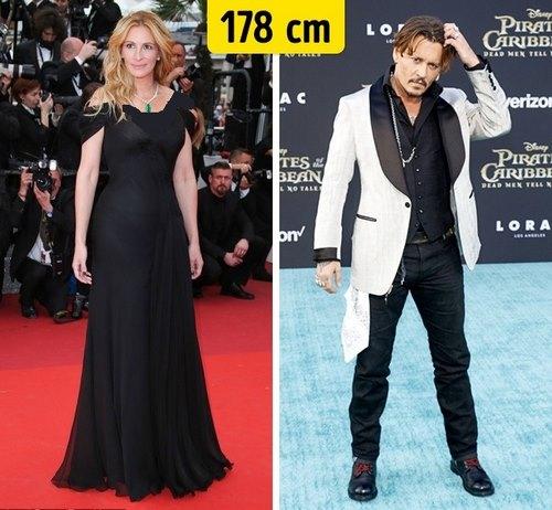 اینستاگرام قد بلندترین بازیگران هالیوود