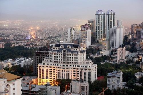 برج های شاخ تهران