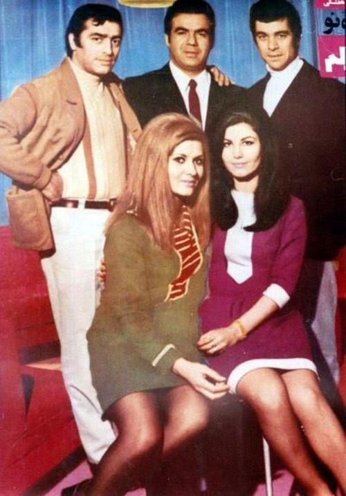 کراش های قدیم و جدید در ایران