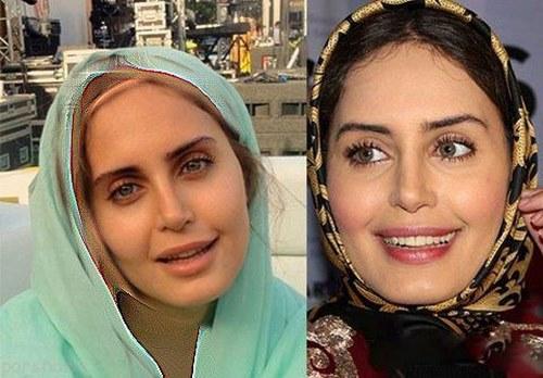 چرا بازیگران زن ایرانی بدون آرایش در جلوی دوربین ظاهر نمی شوند؟